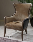 Uttermost Snowden Tan Wing Chair UT-23158