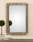 Uttermost Sori Scalloped Metal Mirror UT-12898