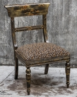 Uttermost Tambra Leopard Print Accent Chair UT-23632