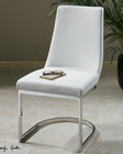 Uttermost Xantina White Accent Chair UT-23141