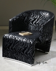 Uttermost Yareli Zebra Accent Chair UT-23139
