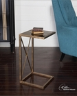 Uttermost Zafina Gold Side Table UT-25014