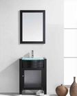 "Virtu USA 24"" Single Sink Bathroom Vanity in Ava VU-MS-545-G-ES"