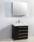 "Virtu USA 30"" Single Sink Bathroom Vanity Bailey Wenge VU-JS-50530-WG"