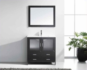 "Virtu USA 36"" Single Bathroom Vanity Felice in Espresso VU-MS-313-C-ES"