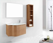 "Virtu USA 36"" Bathroom Vanity set Roselle in chestnut VU-ES-1236-C-CH"