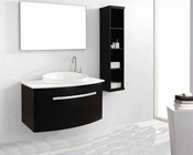 "Virtu USA 40"" Single Bathroom Vanity set Anabelle Espresso VU-ES-1040"