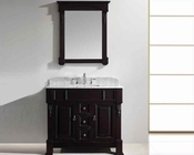 "Virtu USA 40"" Square Sink Bathroom Vanity Huntshire VU-GS-4040-WMSQ-DW"
