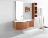"Virtu USA 48"" Single Bathroom Vanity set Isabelle chestnut VU-ES-1048"