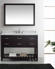 "Virtu USA 48"" Square Sink Bathroom Vanity Caroline VU-MS-2248-WMSQ-ES"