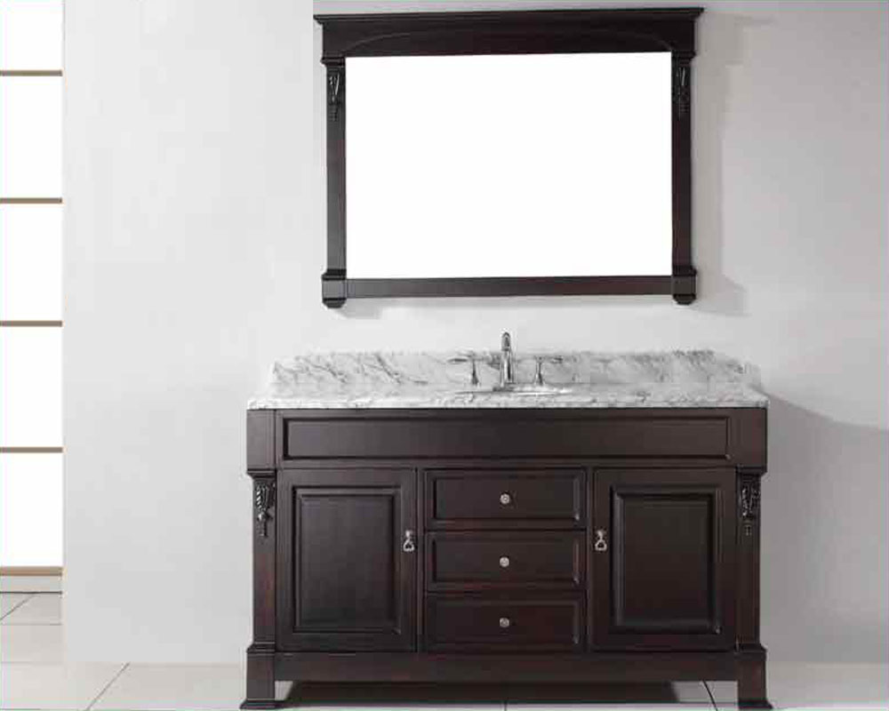 virtu usa 60 round sink bathroom vanity huntshire vu gs