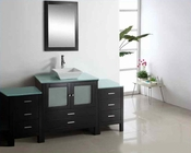 "Virtu USA 71"" Single Bathroom Vanity Brentford in Espresso VU-MS-4471"