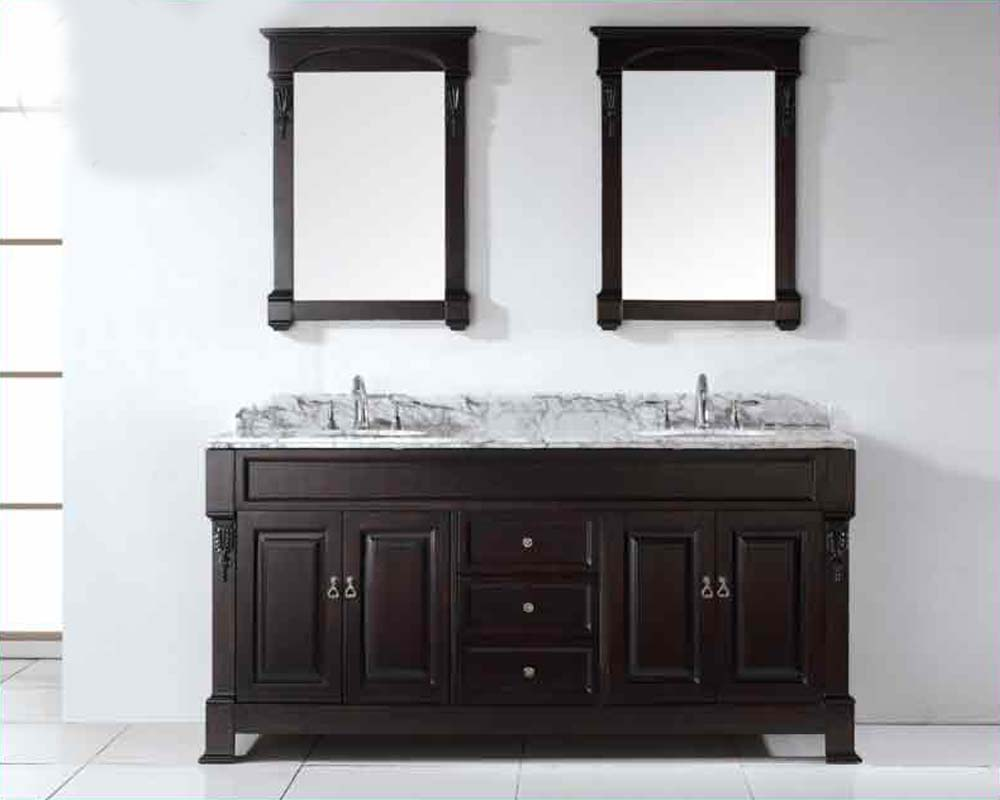 virtu usa 72 round sinks bathroom vanity huntshire vu gd