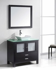 Virtu USA Brentford 36in Espresso Single Bathroom Set VU-MS-4436-ES