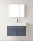 Virtu USA Grey 36in Single Bathroom Vanity Set Midori VU-JS-50136-GR