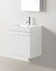 Virtu USA Midori White 24in Single Vanity Cabinet VU-JS-50124-GW-PRT