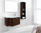 "Virtu USA 36"" Sink Bathroom Vanity set Roselle Walnut VU-ES-1236-C-WA"