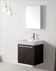 Virtu USA Wenge 24in Single Bathroom Vanity Set Midori VU-JS-50124-WG