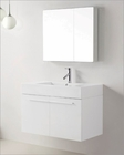 Virtu USA White 36in Single Bathroom Vanity Set Midori VU-JS-50136-GW