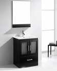 Virtu USA Zola 24in Single Bathroom Set in Espresso VU-MS-6724-C-ES