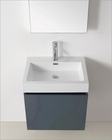 Virtu USA Zuri 24in Grey Single Bathroom Set VU-JS-50324-GR