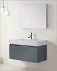 Virtu USA Zuri Grey 39in Single Bathroom Set VU-JS-50339-GR