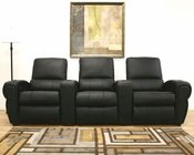 Warehouse Interiors Moondance Row of 3 Home Theater Seating BS-695