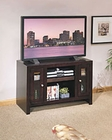 Whalen Entertainment TV Console in Chocolate Maple GO-DMECON-CM