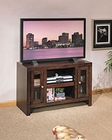 Whalen Entertainment TV Console in Chocolate Oak GO-DMECON-CO