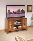 Whalen Entertainment TV Console in Honey Maple GO-DMECON-HM