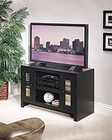 Whalen Entertainment TV Console in Rich Black GO-DMECON-BL