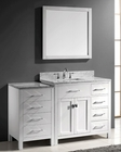 White Bathroom Set Caroline Parkway by Virtu USA VU-MS-2157R-WM-WH