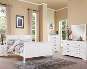 White Bedroom Set Louis Philippe III by Acme AC24500SET