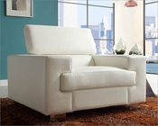 White Chair Vernon by Homelegance EL-9603WHT-1