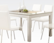 White Dining Table Kilee by Acme Furniture AC70990