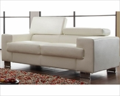 White Loveseat Vernon by Homelegance EL-9603WHT-2