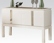 White Server Kilee by Acme Furniture AC70994