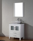 White Single Bathroom Set Dior by Virtu USA VU-KS-70024-WM-WH