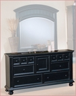 Winners Only 6 Drawer Dresser Cape Cod in Ebony WO-BE1006