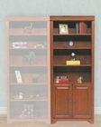 Winners Only Americana 32 inch Door Bookcase WO-JM132BDR