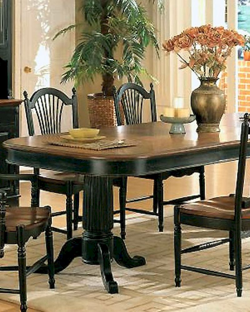 winners only cottage cherry ebony dining table wo dc4296ce w