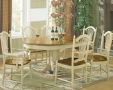 Winners Only Cottage Honey/Buttermilk Dining Set WO-DC4260HBs