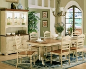 Winners Only Cottage Honey/Buttermilk Dining Set WO-DC4296HBs