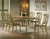 Winners Only Dining Set in Almond/Green WO-DP14278AGs