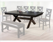 Winners Only Dining Table Edgewater in Espresso Finish WO-DEX14090