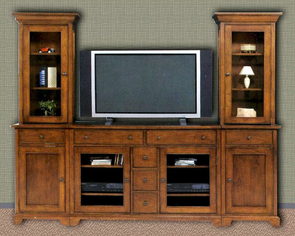 Winners Only Entertainment Center In Vintage American Wo Tj 2