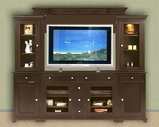 Winners Only Espresso Entertainment Wall Unit WO-TM-1