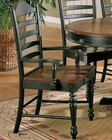 Winners Only Ladder Back Dining Arm Chair WO-DC550ACE (Set of 2)