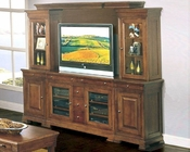 Winners Only Plasma Entertainment Wall Unit in Dark Oak WO-TW-1