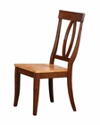 Winners Only Solid Wood Keyhole Side Chair Santa Barbara